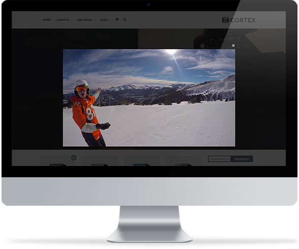 Lightbox Video Popup in WordPress theme